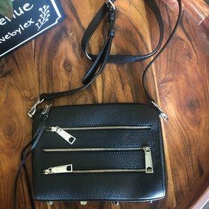 Rebecca Minkoff Bags - Rebecca Minkoff Leather Mini 5 Zip Crossbody